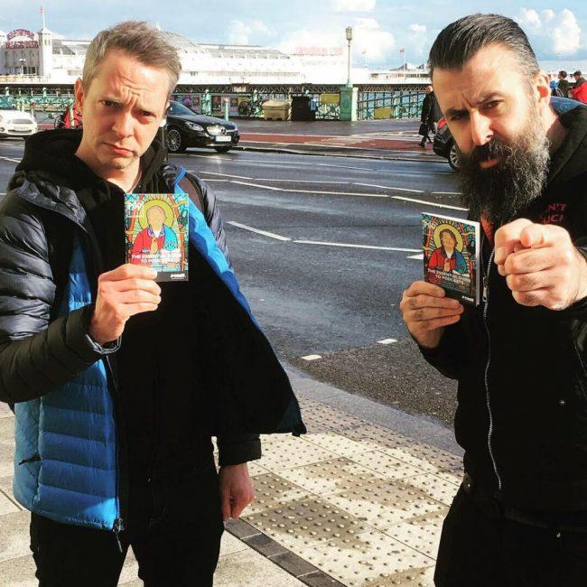 Pip & Adam in Brighton