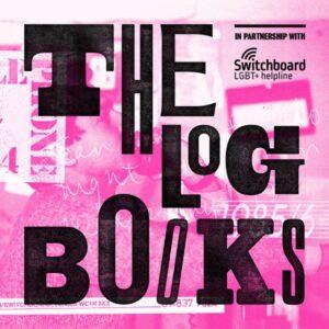 the Log Books podcast art