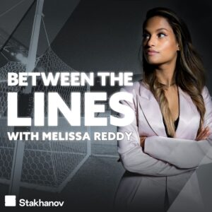 Between The Lines podcast cover art