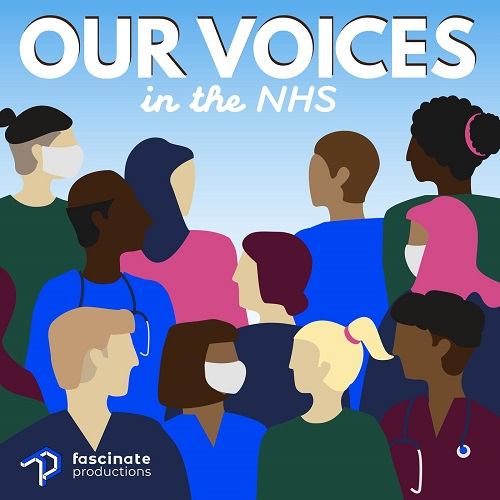 Our Voices in the NHS podcast art