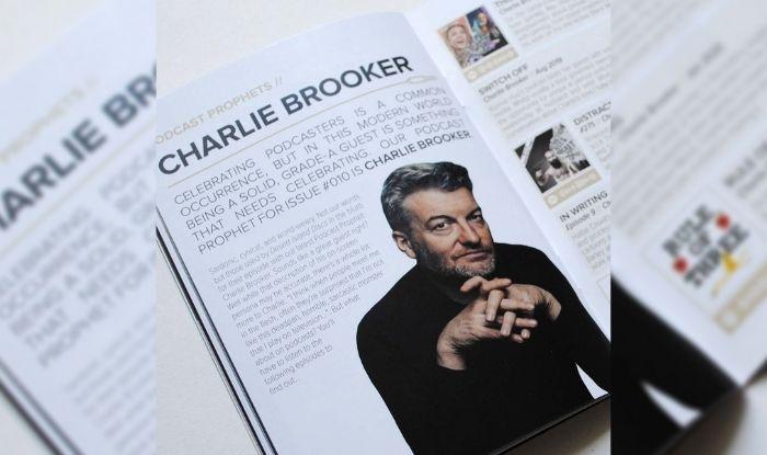 Charlie Brooker podcast prophet