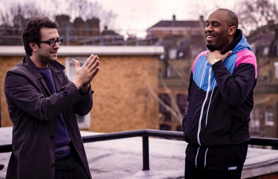 Howard Cohen, Producer of Dane Baptiste Questions Everything, and Dane Baptiste himself.