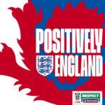 Positively England podcast art