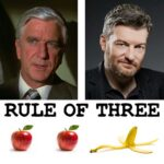 Rule of Three with Charlie Brooker podcast art