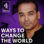 Ways to CHange the world podcast art