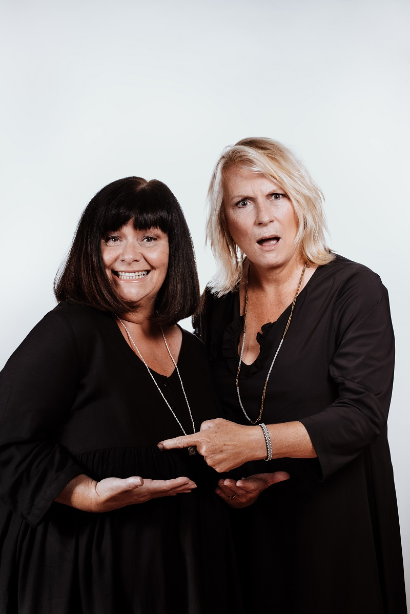 French and Saunders Photo by Rachel Manns