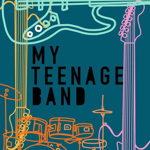 My Teenage Band podcast art