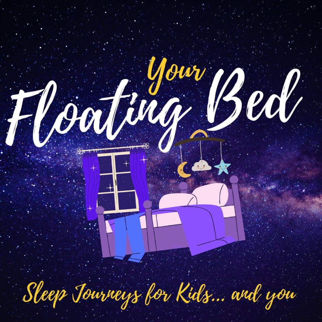 Your Floating Bed podcast for children cover art
