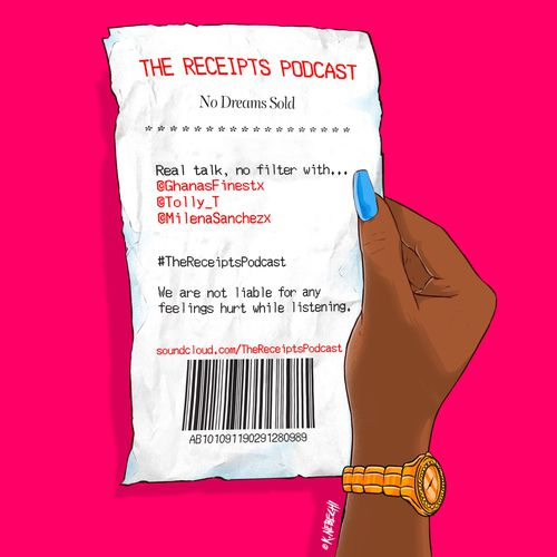 The Receipts podcast art