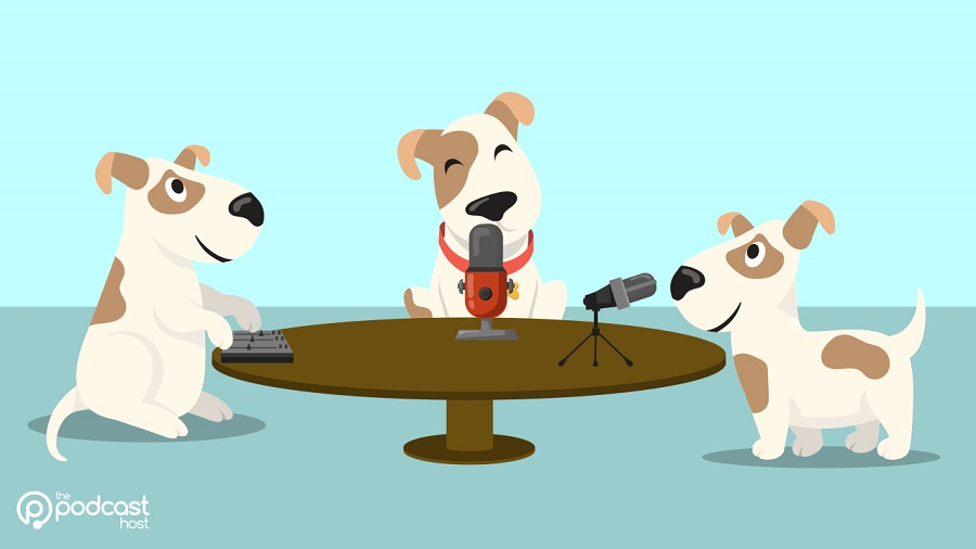 dogs_making_a_podcast