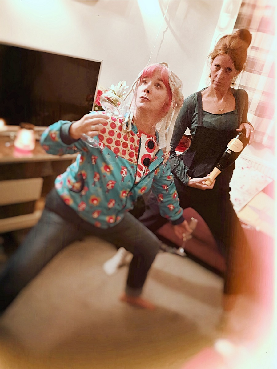 Lou and Sally-Ann from Spit or Swallow