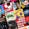 popular podcasts cover art