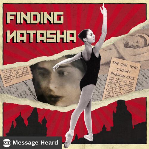 Finding Natasha podcast art