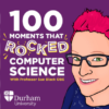 100 moments that rocked comp science cover