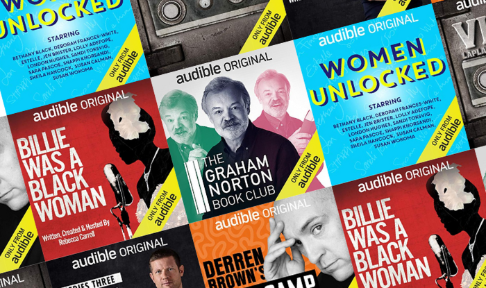 The best Audible podcasts this month