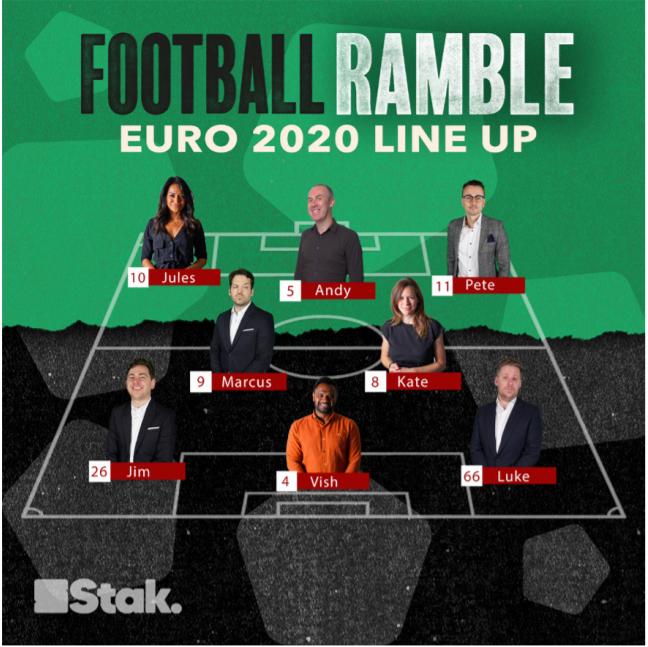 Football Ramble 2020 lineup