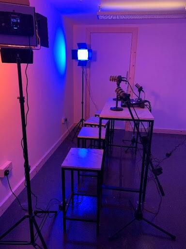 In the BBE studio 2